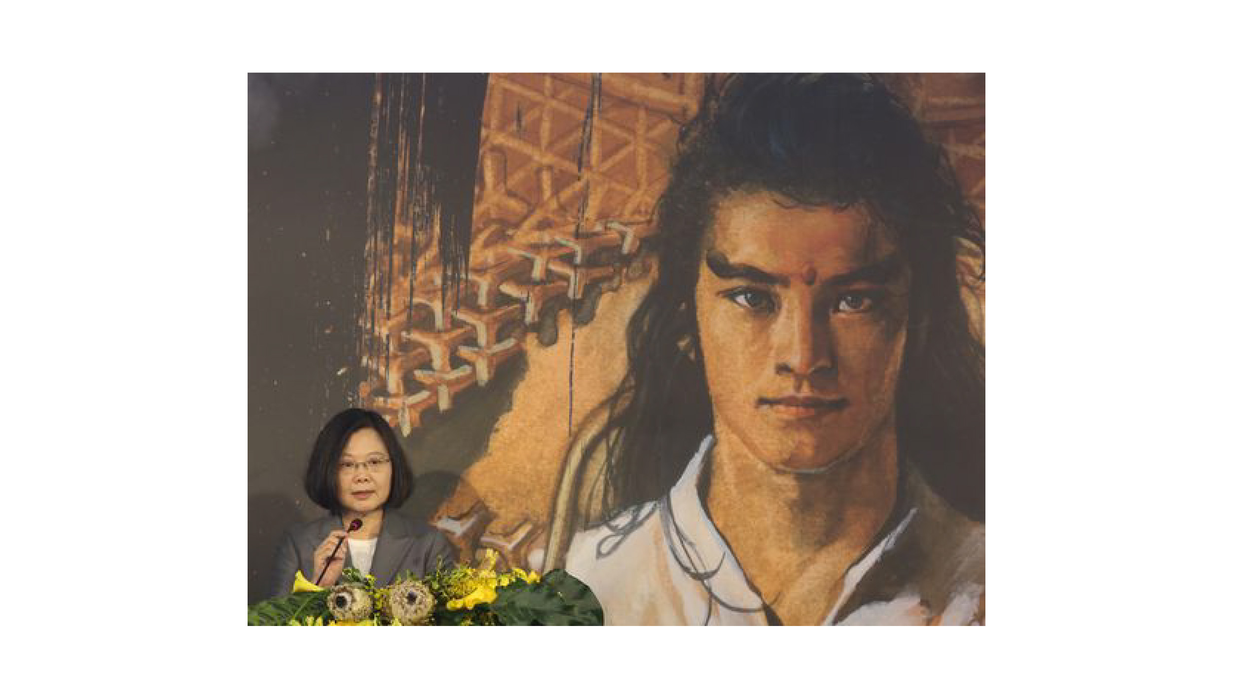 鄭問さんの記念展、故宮で開幕 蔡総統「台湾漫画史上最も重要な日」
